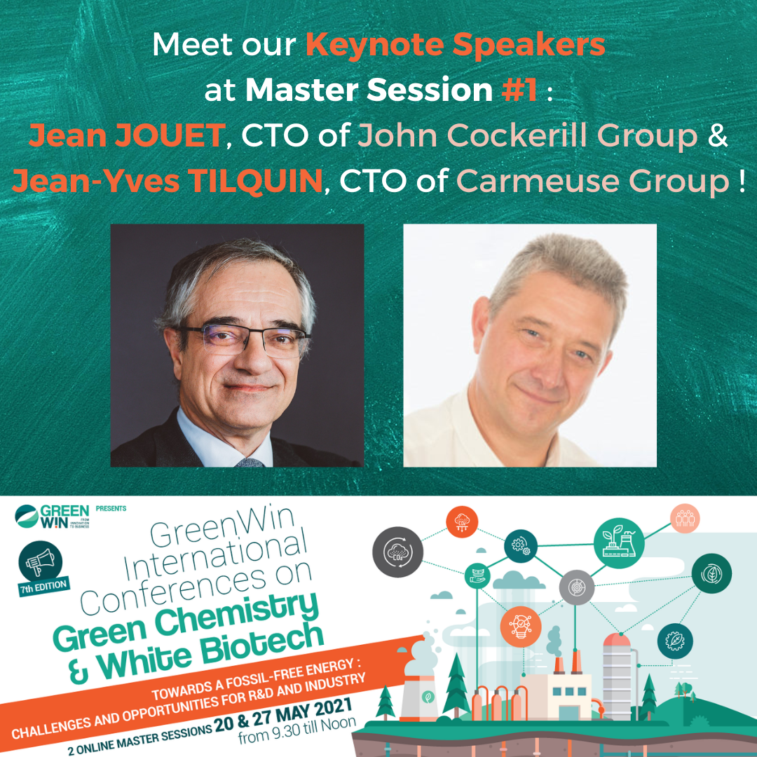 How will Carbon capture & H2 open up the route to fossil-free fuel? Meet Jean JOUET from John Cockerill Group & Jean-Yves TILQUIN from Carmeuse to find out !