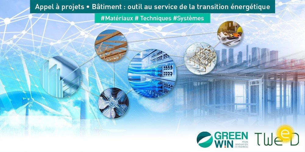 Nouvel appel à projets  -  Le bâtiment: outil au service de la transition énergétique