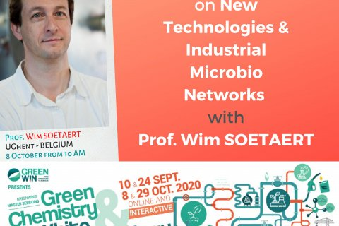 Meet Prof. Wim SOETAERT and find out what the success factors of biorefineries are about !