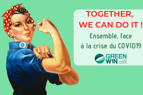 TOGETHER, WE CAN DO IT : faire face ensemble à la crise du COVID-19