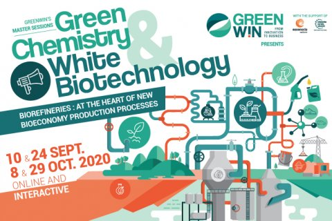 GreenWin adapts and presents: The Green Chemistry & White Biotechnology Master Sessions