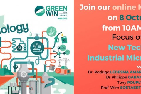 Join us on the 3rd of our 4 Master Sessions, on  New Technologies and how industrial micro bio networks interact within biorefineries