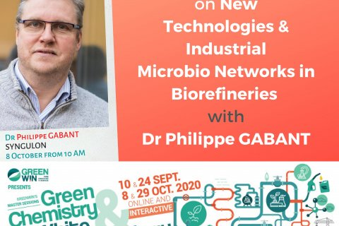 Meet Dr Philippe GABANT from Syngulon on our online Master Session #3 on 8 October 2020 at 10AM